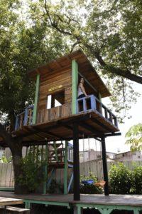 充滿文青氣息的樹屋,讓你能一圓童年的夢想。(圖片來源: ETNEWS新聞雲)