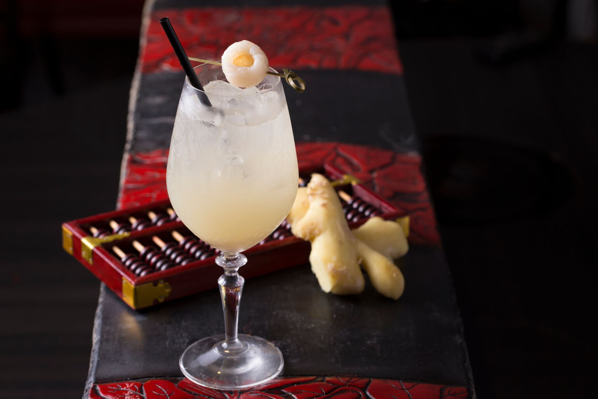 「Lychee Ginger Fizz」($98)