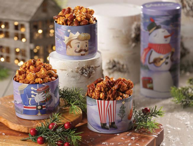 Nutty Holidays:杏仁焦糖脆脆、腰果焦糖脆脆、胡桃焦糖脆脆