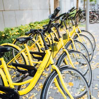OFO目前是全球最大共享單車商,全球使用者數量已突破 2 億,每日的全球使用人次達三千二百萬。