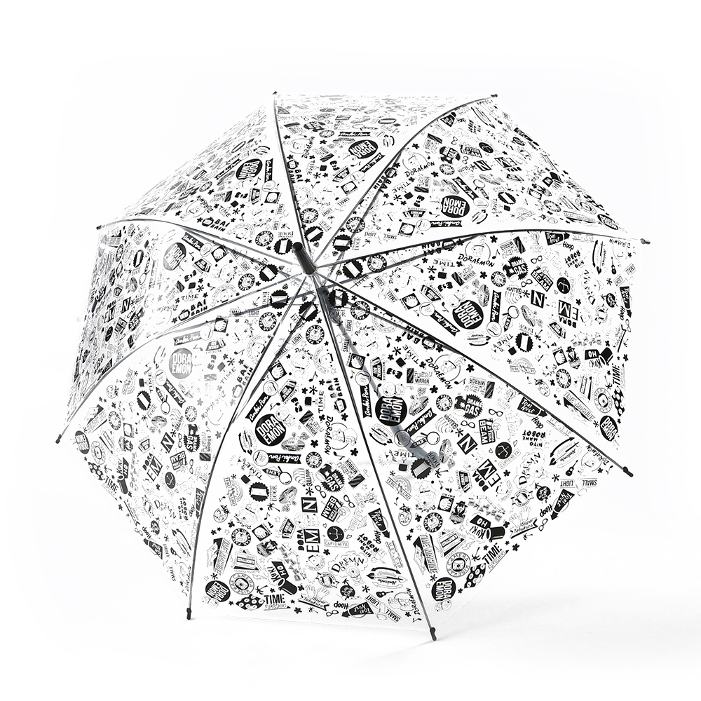 500円的黑白雨傘,也是必定很快賣光的商品之一。