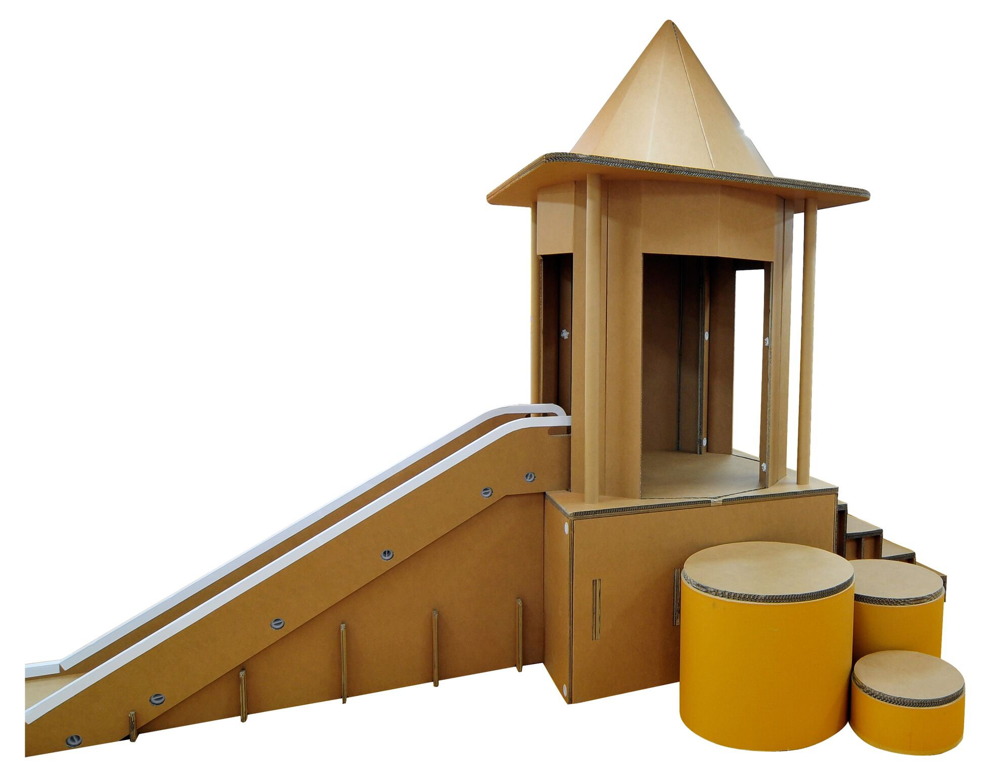 環保城堡滑梯