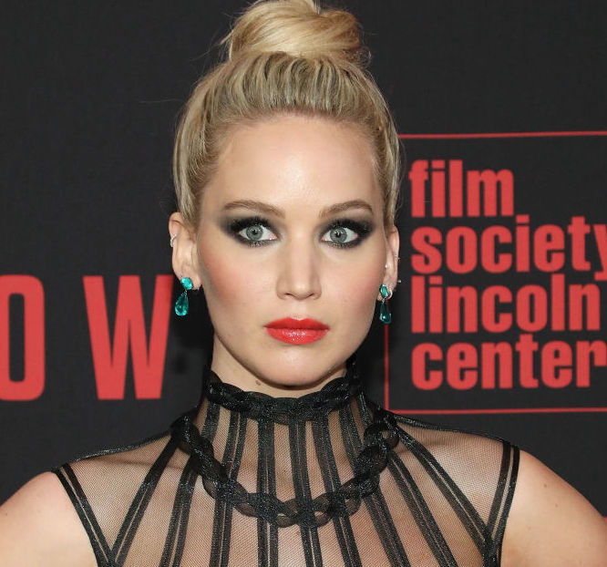 "NEW YORK, NY - FEBRUARY 26: Actress Jennifer Lawrence attends the ""Red Sparrow"" premiere at Alice Tully Hall at Lincoln Center on February 26, 2018 in New York City. (Photo by Taylor Hill/FilmMagic)"