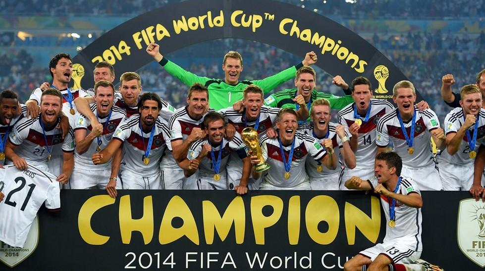 上屆由德國奪得世界盃冠軍。