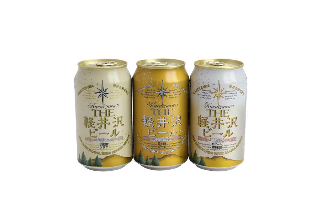 包裝閃耀著金色光茫的輕井澤啤酒,麥味濃郁能媲美如Asahi、Sapporo等日本著名品牌啤酒。使用來自長野縣淺間的珍貴名水及精選小麥麥芽,通過上層發酵釀造成的正統艾爾啤酒。酒精度5%,口感圓潤,傳來陣陣麥芽蜂蜜香,並帶一點酵母酸爽與吐司味,尾韻帶微甘的穀物甜,易飲不膩。
