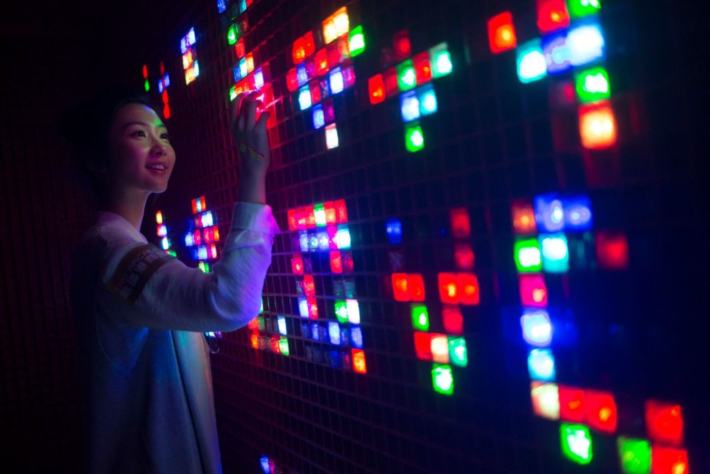 LED彩虹牆